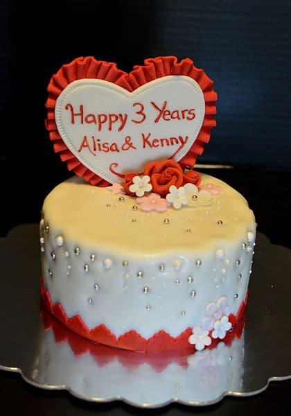 alisa samaroo 3yr cake