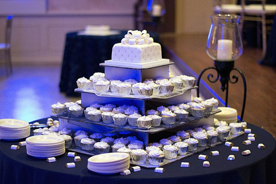 Mardi Gras Wedding Cakes