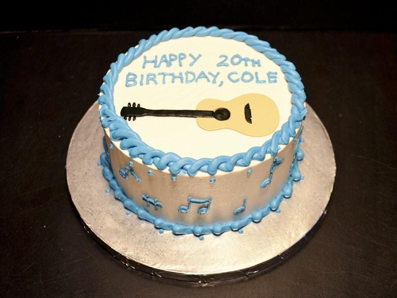 Blue Guitar Cake U Name It Creative Services
