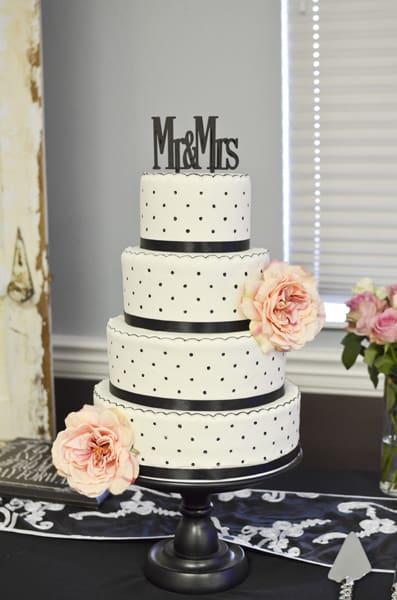 Dummy Wedding Cake